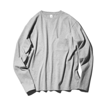 Crew neck Pocket Long T-shirts (JS030)