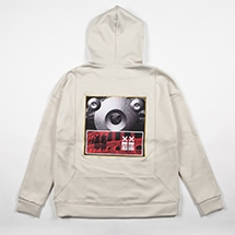 GALLERY HOODIE - off white -